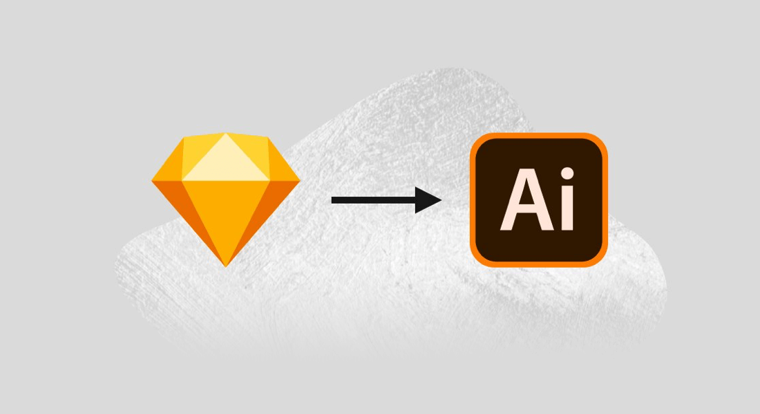 How can you turn Sketch to Adobe Illustrator?